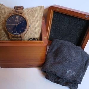 JORD Accessories - JORD Frankie Wooden Wrist Watch